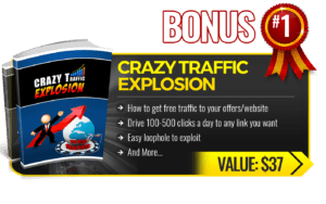 Bonus Crazy Traffic Explosion
